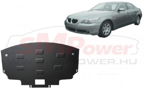BMW 5 E60/E61 2003-2010 | SMP03.016 - Motorvédő lemez