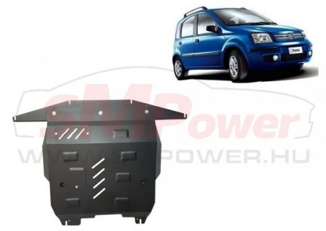 Fiat Panda 2006 - 2012   SMP07.044K - Motorvédő lemez
