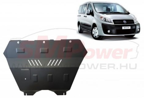 Fiat Scudo, 1.8HDI,1.9TD,2.0,HDI, 2006-   SMP30.033K - Motorvédő lemez
