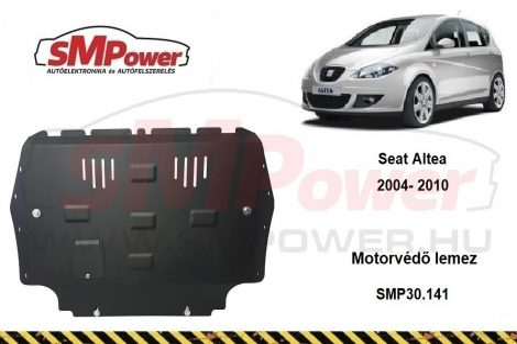 Seat Altea, 2004 - 2010 | SMP30.141 - Motorvédő lemez (manuális váltós autóhoz)