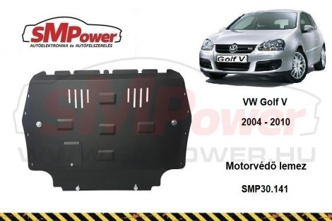 VW Golf 5, 1.4, 1.6, 1.9 TD, 2.0, 2.0 TD, 2004- | SMP30.141 - Motorvédő lemez